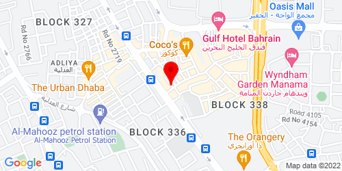 Google Map of 26.2134, 50.5915