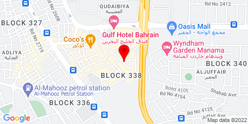 Google Map of 26.213924, 50.595327