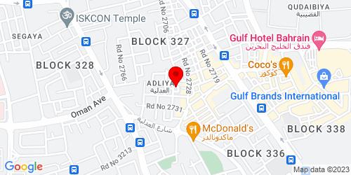 Google Map of 26.214452,50.585695