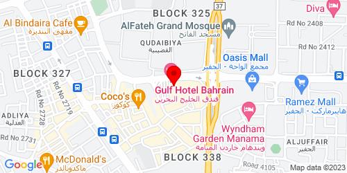 Google Map of 26.216247, 50.594637