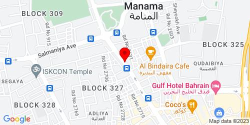 Google Map of 26.21893, 50.586675