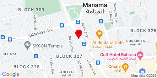 Google Map of 26.219103, 50.586053