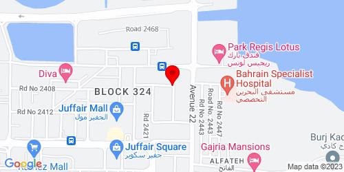 Google Map of 26.219906, 50.611157