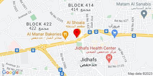 Google Map of 26.220322, 50.535266