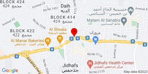 Google Map of 26.221301, 50.537507