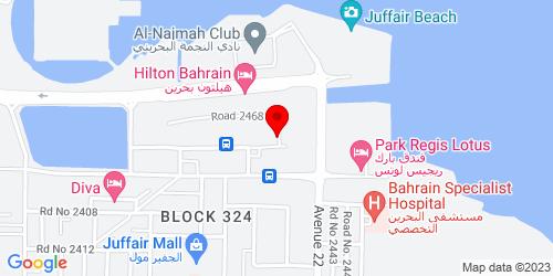 Google Map of 26.222329, 50.610798