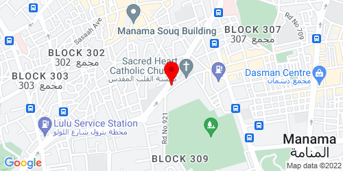 Google Map of 26.226841, 50.579033