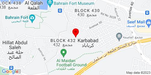 Google Map of 26.231231, 50.526054