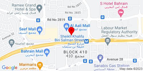 Google Map of 26.232356,50.541225