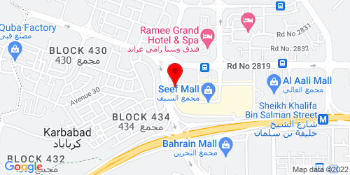 Google Map of 26.233309, 50.534427