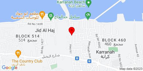 Google Map of 26.233777, 50.505926
