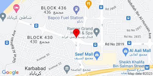 Google Map of 26.235279, 50.533584