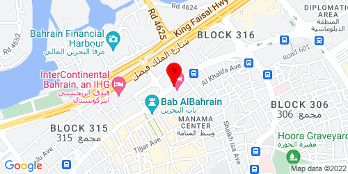 Google Map of 26.235502, 50.577026