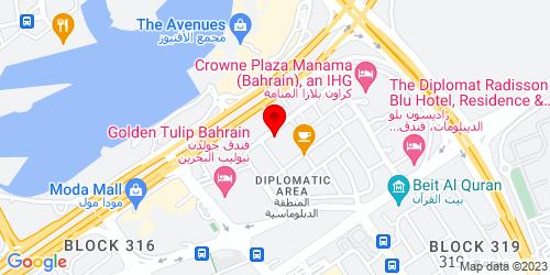 Google Map of 26.242167,50.586665