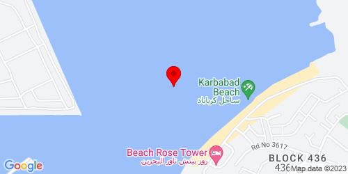 Google Map of 26.242767, 50.52254