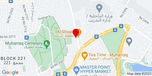 Google Map of 26.267164,50.615456