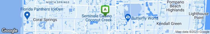 Map of Lucky City Restaurant