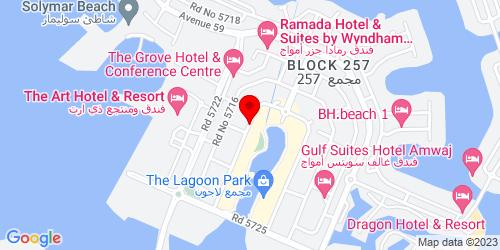 Google Map of 26.289759, 50.663022