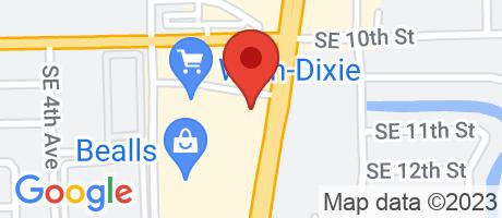 Branch Location Map - TD Bank, Deerfield Store Branch, 1011 South Federal Highway, Deerfield Beach FL