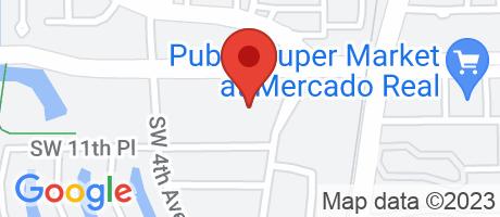 Branch Location Map - TD Bank, Boca Raton Camino Real Branch, 1001 Sw 2nd Avenue, Boca Raton FL