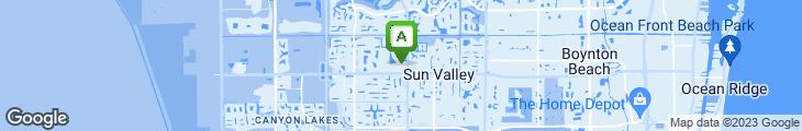Map of DaVinci Restaurant