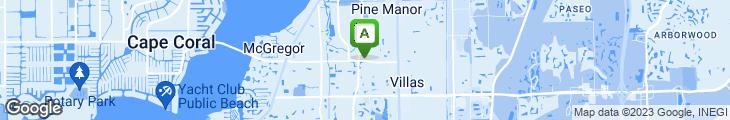 Map of Blue Pepper Gourmet Market