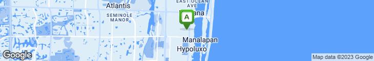 Map of Lantana Pizza