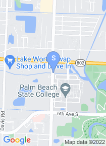 Palm Beach State College map