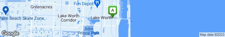 Map of Aloha Cafe