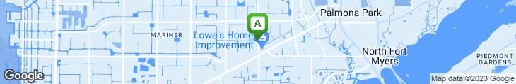 Map of Hogbody's Bar & Grill