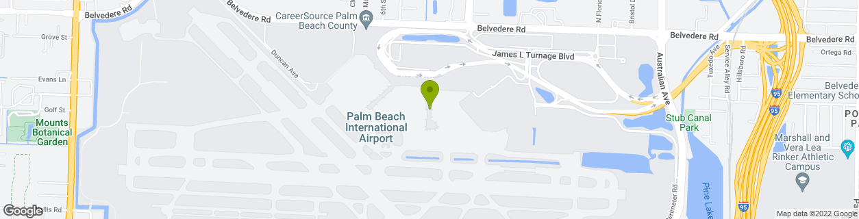 PBI - West Palm Concourse-B
