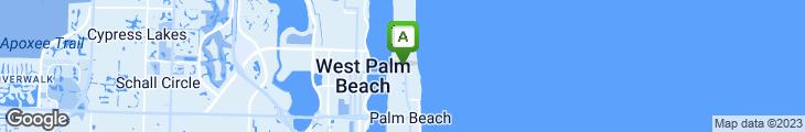 Map of Echo Restaurant