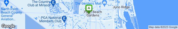 Map of J Alexanders Restaurant