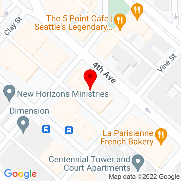 Google Map of 2601 4th Avenue, Suite 340, Seattle WA 98121
