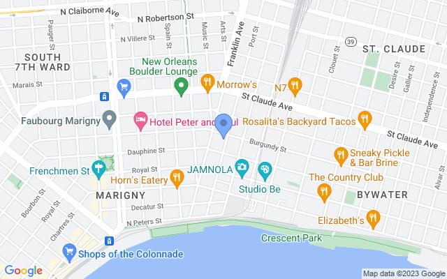 2624 Burgundy Street, New Orleans, LA 70117, USA
