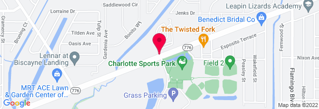 Map for Charlotte County Fairgrounds