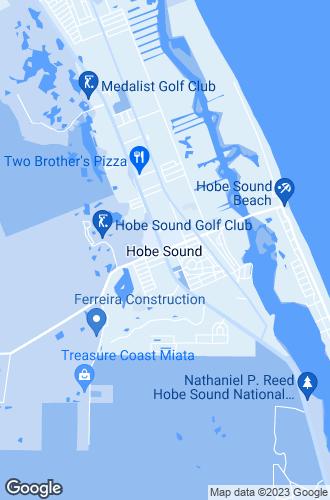 Map of Hobe Sound