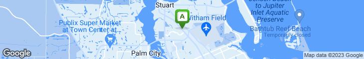 Map of Bangkok Bay Thai & Sushi Bar