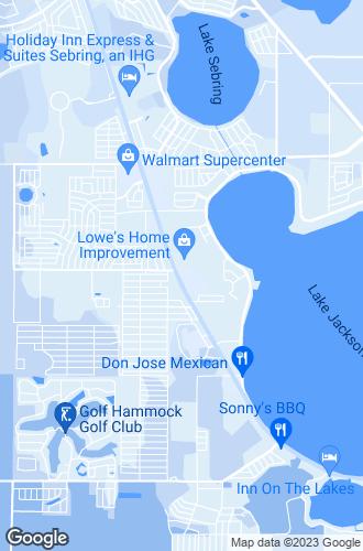 Map of Sebring