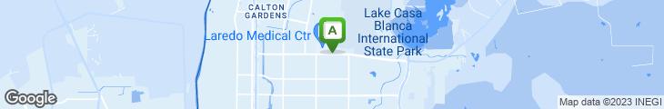 Map of La Paletera