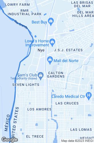 Map of Laredo