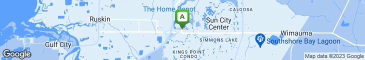 Map of Beef 'O' Brady's