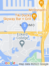 Eckerd College map