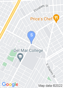Del Mar College map