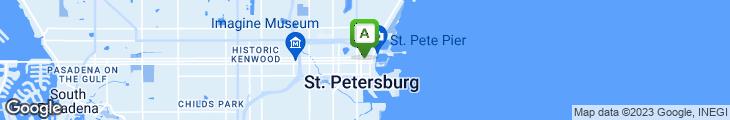 Map of Garden Restaurant