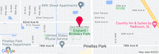 Map for England Brothers Park