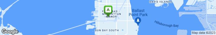 Map of Sam's Ny Pizza