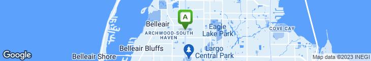 Map of Los Amigos I Restaurante