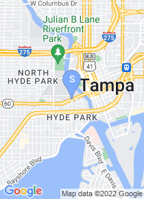 University of Tampa map