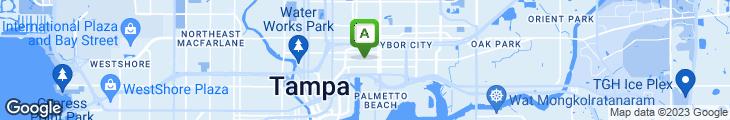 Map of Green Iguana